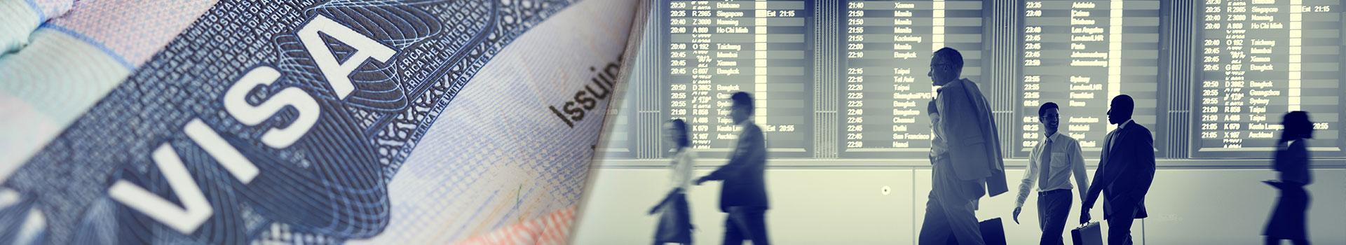 استخراج مختلف أنواع تأشيرات الفيزا